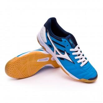 Sapatilha de Futsal  Mizuno Classic 2 IN Diva blue-White
