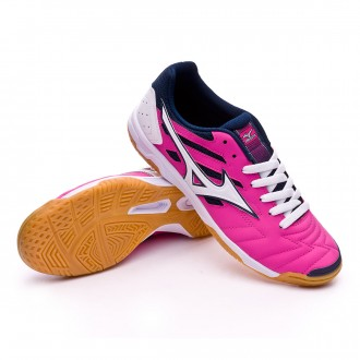 Sapatilha de Futsal  Mizuno Classic 2 IN Electric-White