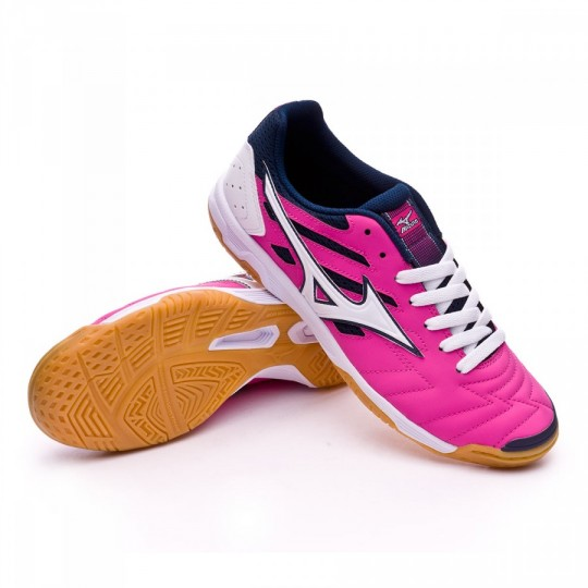 Chaussure de futsal  Mizuno Classic 2 IN Electric-White