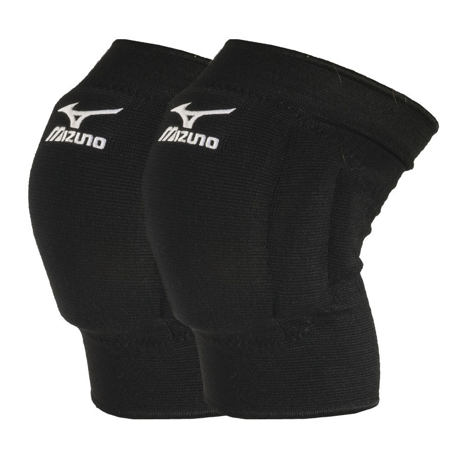 mizuno knee pads black