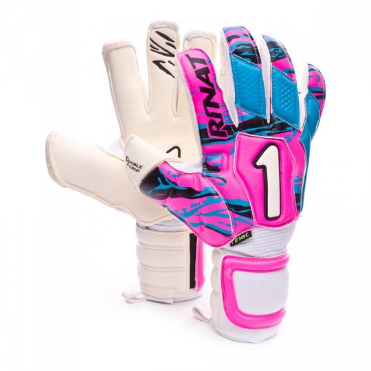 Glove  Rinat Uno Clásico 2.0 Pro Pink-Turquoise-White