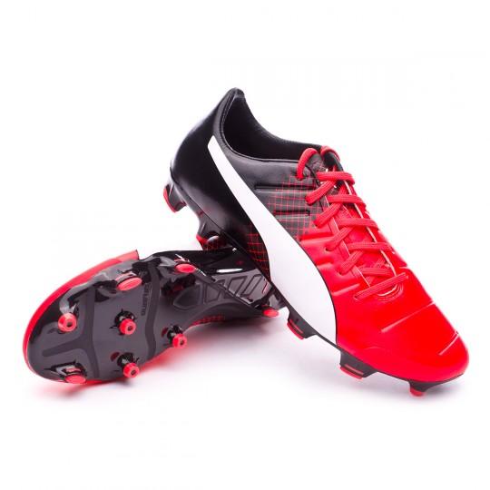 Chuteira  Puma EvoPower 2.3 FG Red blast-White-Black