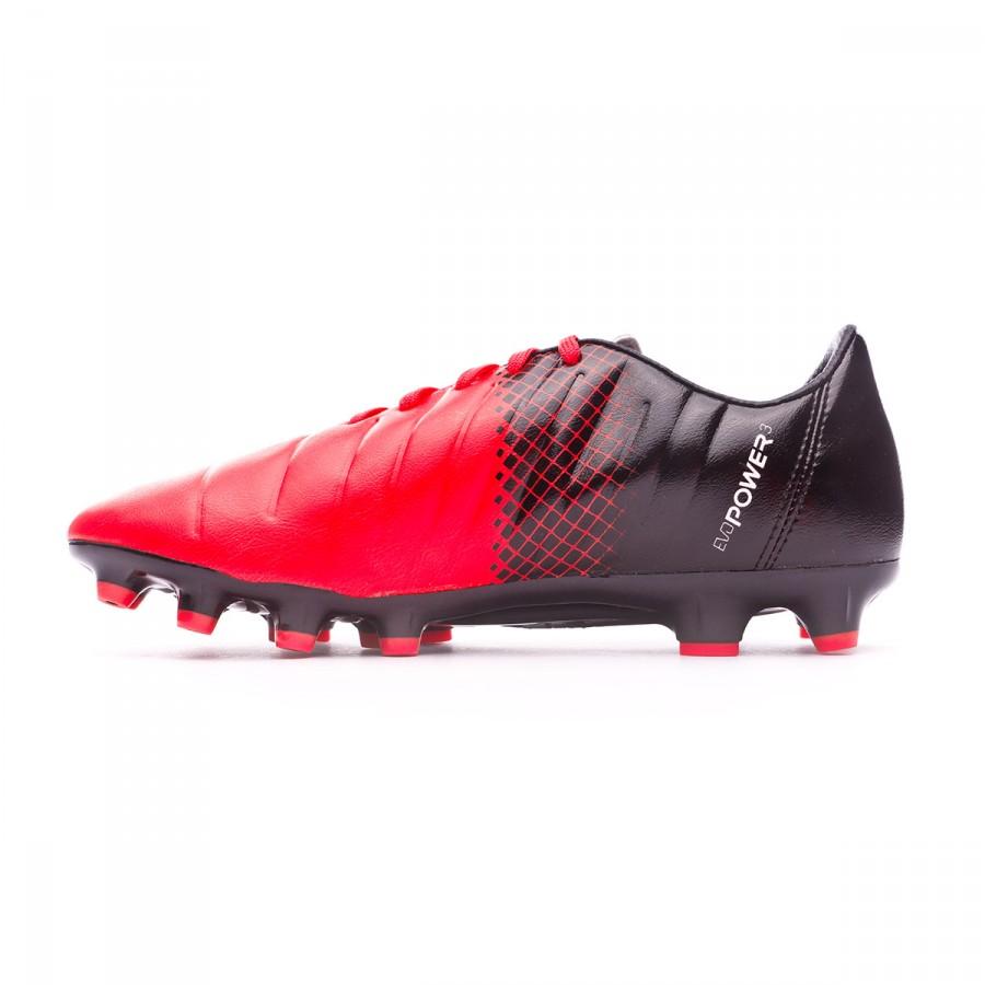 130d43afc6d Chuteira Puma EvoPower 3.3 AG Red blast-White-Black - Loja de futebol  Fútbol Emotion