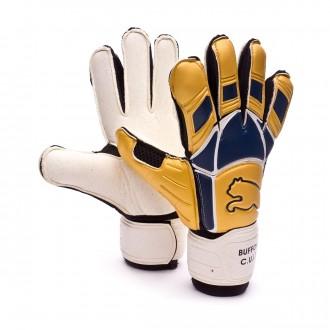 Luvas  Puma Buffon V-Konstrukt Ouro-Azul