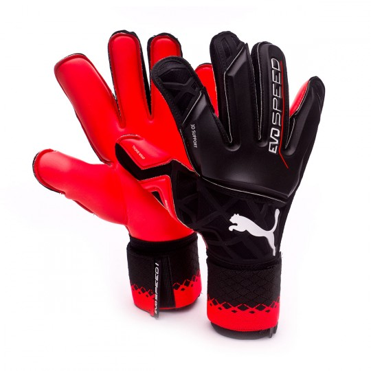 Glove Puma EvoSpeed 1.5 Black-Red blast - Football store Fútbol Emotion 17202357c847