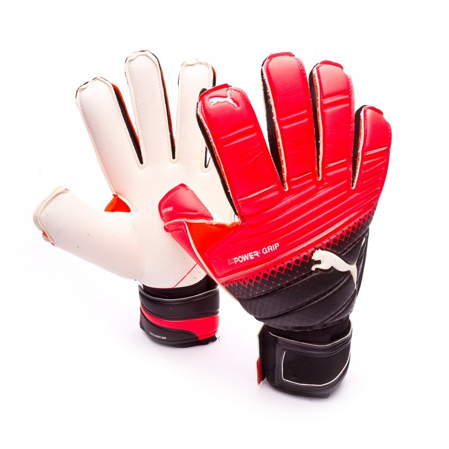 Glove Puma EvoPower Grip 1.3 RC Red-Black-White - Football store Fútbol  Emotion 0ac116519a6d