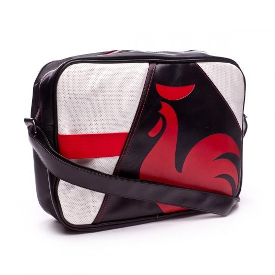 Bolsa  Le coq sportif Dolicho Reporter Black-Pur rouge-White