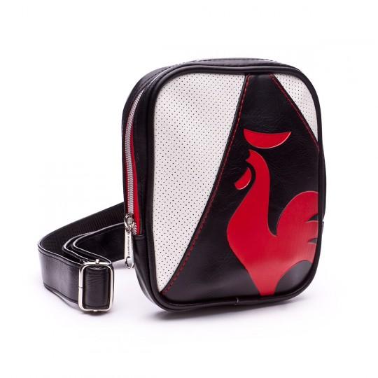 Bolsa  Le coq sportif Rubilo Black-Pur rouge-White