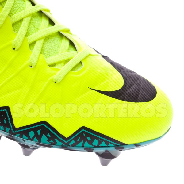 156d03a6c Football Boots Nike HyperVenom Phantom II ACC SG-Pro Volt-Black-Hyper  turquoise-Clear jade - Football store Fútbol Emotion