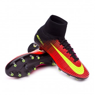 Mercurial Superfly V ACC AG-Pro Total crimson-Volt-Black-Pink blast