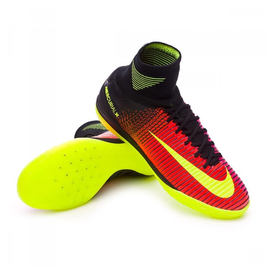 50f49b8be6e8a Sapatilha de Futsal Nike MercurialX Proximo II IC Total crimson-Volt-Pink  blast-Black - Loja de futebol Fútbol Emotion