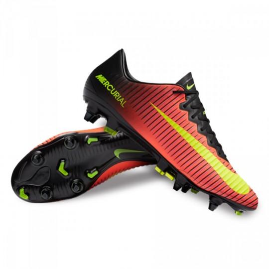 Chuteira  Nike Mercurial Vapor XI ACC SG-Pro Total crimson-Volt-Black-Pink blast