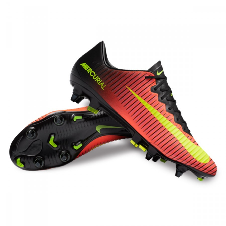 watch 0b863 5bd1c Boot Nike Mercurial Vapor XI ACC SG-Pro Total crimson-Volt-Black-Pink blast  - Football store Fútbol Emotion