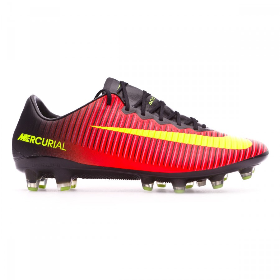 big sale e9b98 675cb ... Bota Mercurial Vapor XI ACC AG-Pro Total crimson-Volt-Black-Pink. Video