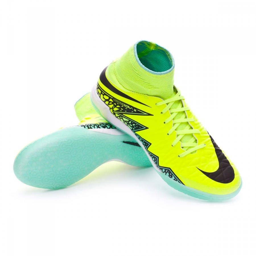 aa8d2b03ff380 Futsal Boot Nike Jr HypervenomX Proximo IC Volt-Black - Football ...