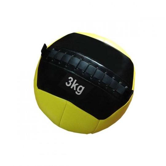 Balón  Jim Sports Entrenamiento Funcional 3 KG Amarillo