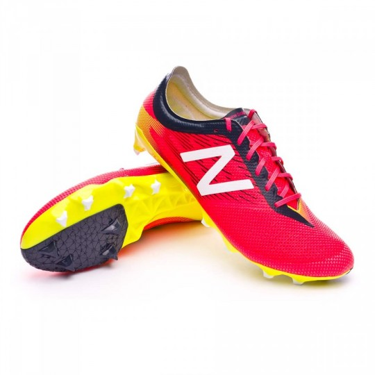 Bota  New Balance Furon V2 Pro FG Bright cherry