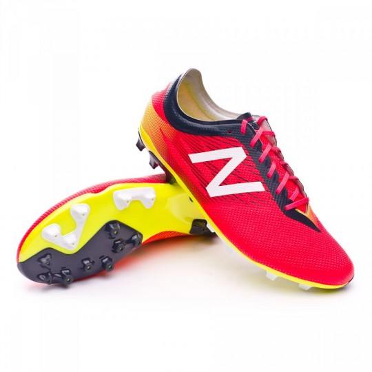 Bota  New Balance Furon V2 Pro AG Bright cherry