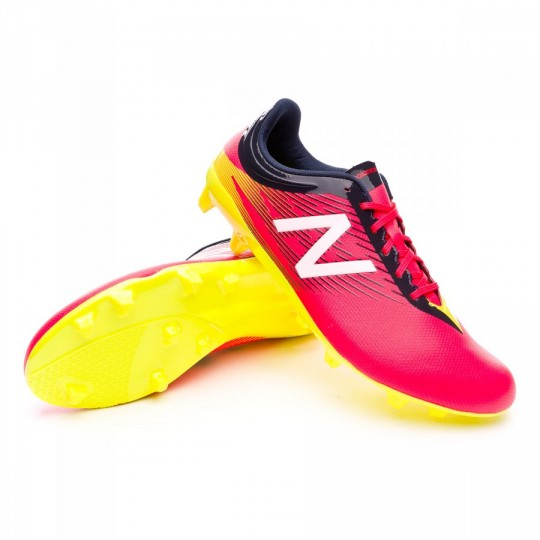 Bota  New Balance Furon Dispatch FG Bright cherry