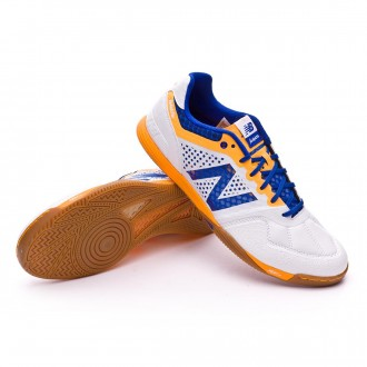 Sapatilha de Futsal  New Balance Audazo Pro Futsal White
