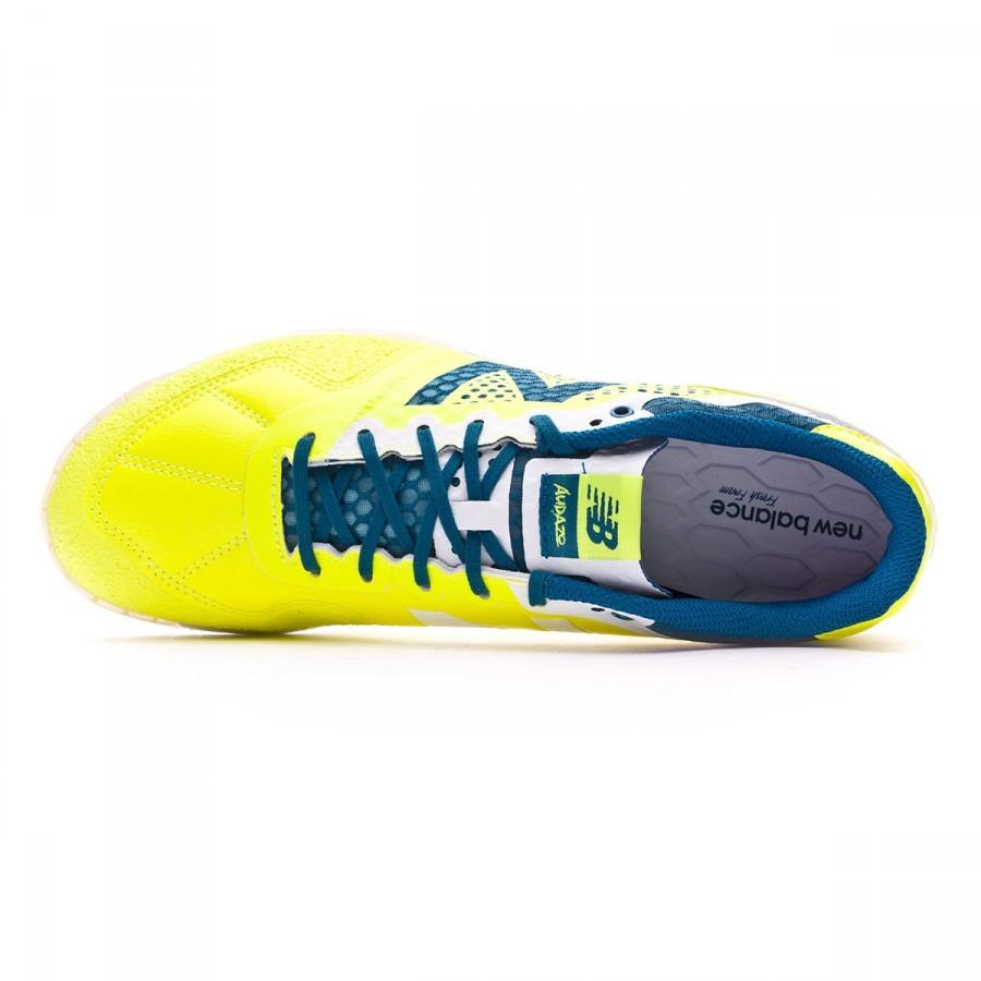 2a3f6495e Futsal Boot New Balance Audazo Pro Futsal Firefly - Football store ...