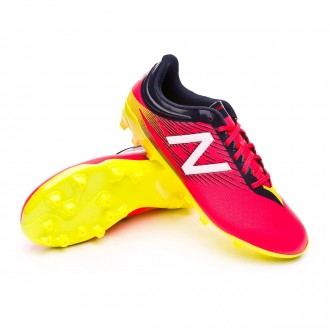 Chuteira  New Balance Jr Furon Dispatch AG Bright cherry