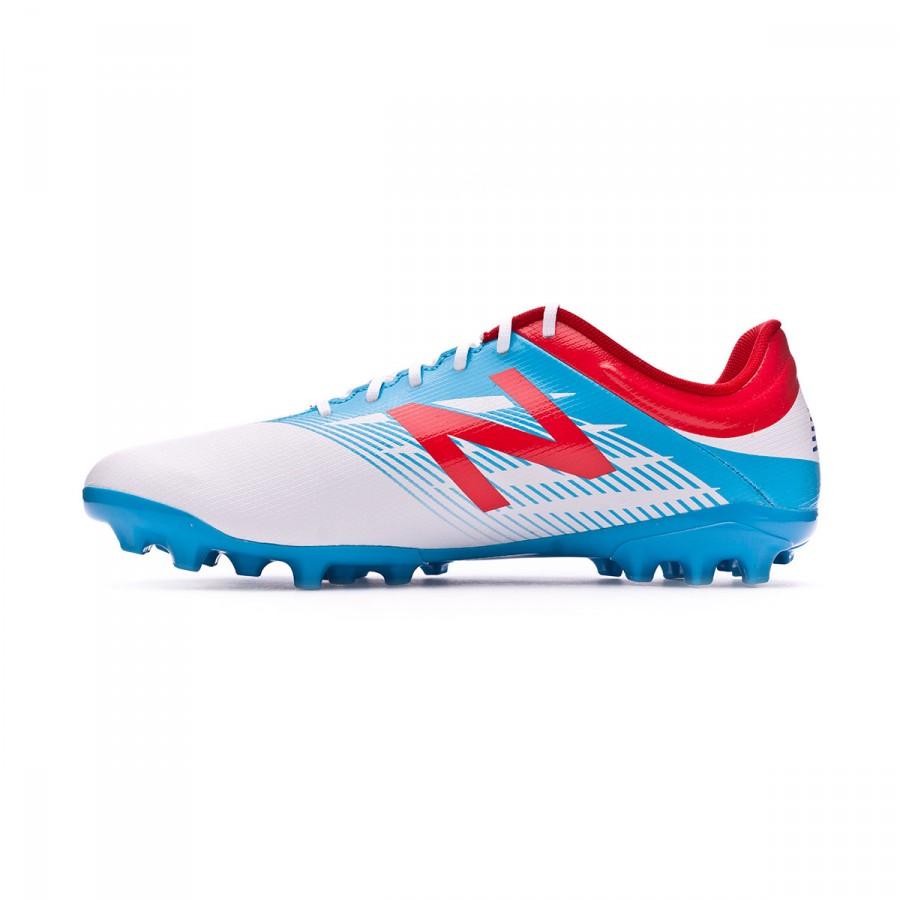 dd1939d30c6c6 Football Boots New Balance Furon Dispatch AG White-Blue - Football ...