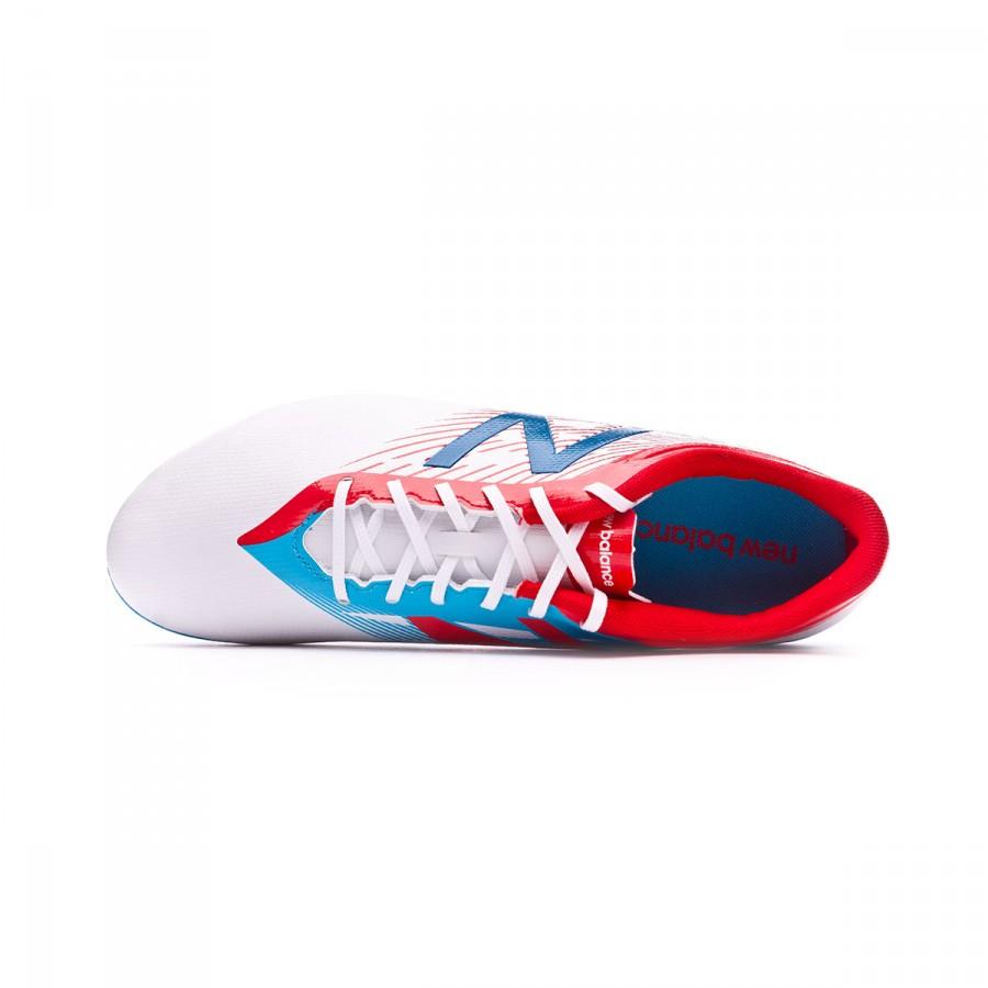1724ae7457659 Football Boots New Balance Furon Dispatch AG White-Blue - Football store  Fútbol Emotion