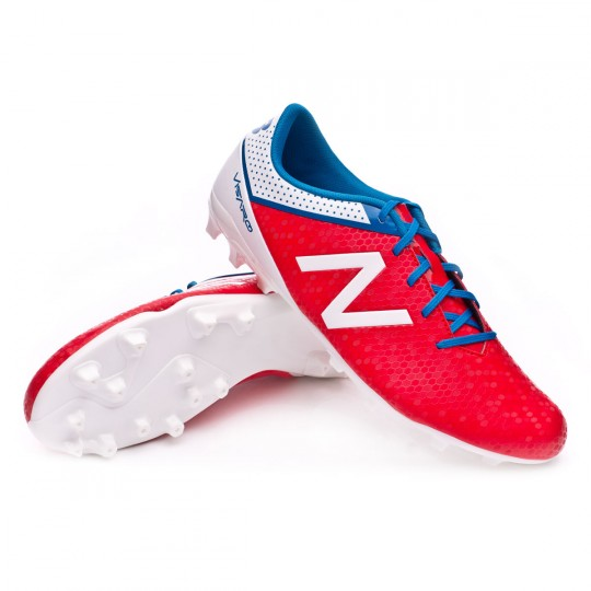 Bota  New Balance Visaro Control AG Red-White