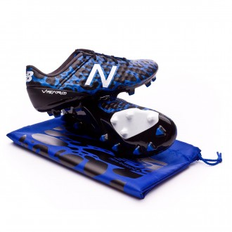 Chuteira  New Balance Visaro Pro FG Signal Edition Blue-Poison blue