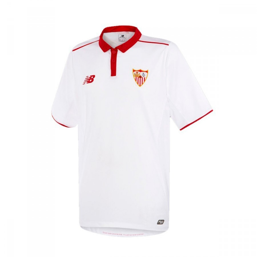 Jersey New Balance Sevilla FC Home 2016-2017 White-Red ...