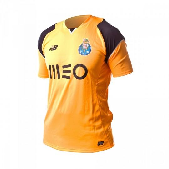 Camiseta  New Balance jr FC Porto Portero Home 2016-2017 Orange-Black