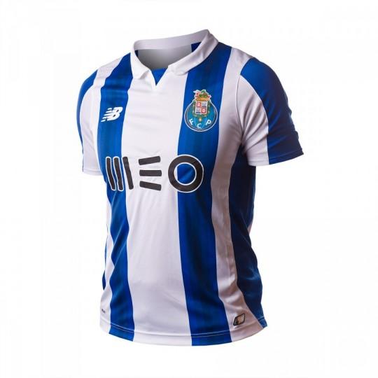 Camiseta  New Balance FC Porto Home 2016-2017 White-Blue