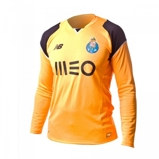 Camiseta  New Balance FC Porto Home Portero M/L 2016-2017 Orange-Black