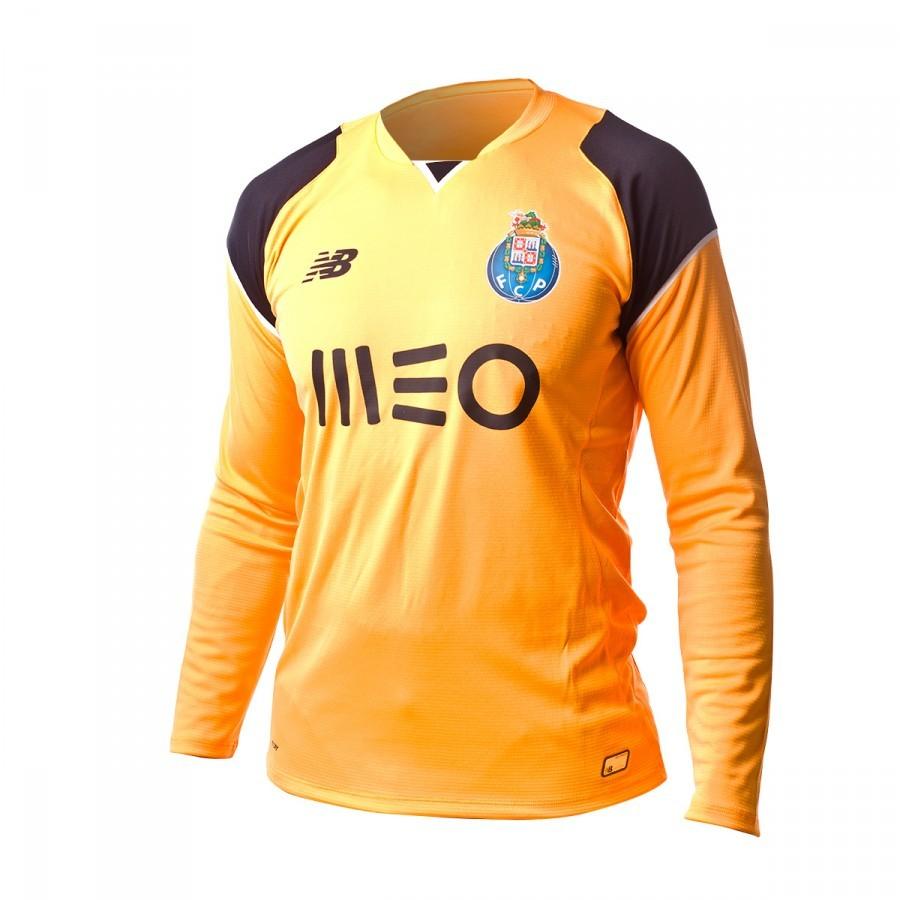 3b2f60c11d Camiseta New Balance FC Porto Primera Equipación Portero M L 2016-2017  Orange-Black - Soloporteros es ahora Fútbol Emotion