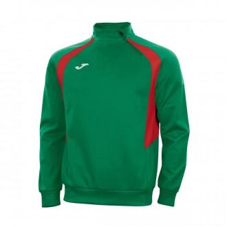 Sweatshirt Joma Campion III Verde-Vermelho