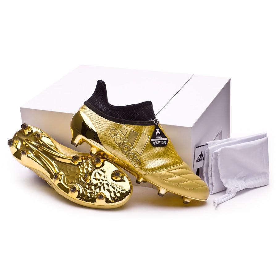 5d4f0ad20 Football Boots adidas X 16+ Purechaos FG Metallic gold - Tienda de ...