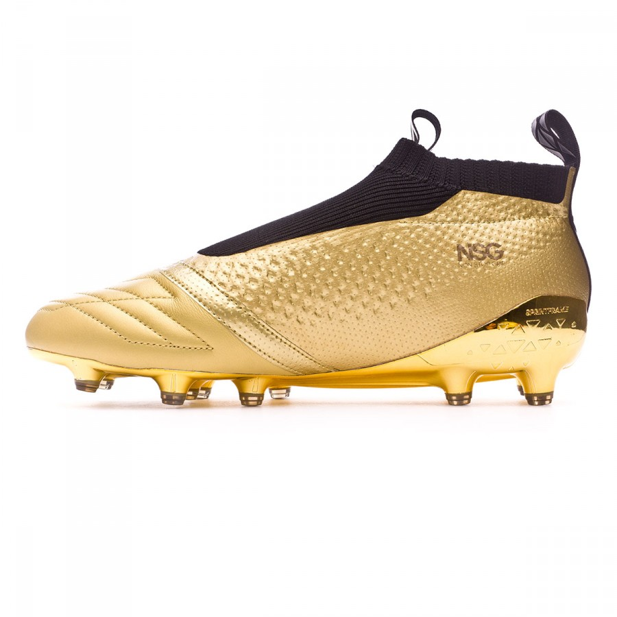 Bota Ace 16+ Purecontrol Metallic gold