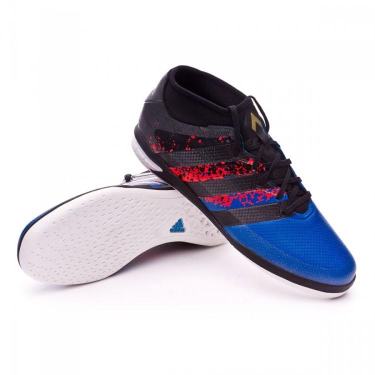 Futsal Boot adidas Ace 16.1 Street PARIS Black-Blue - Soloporteros ... 6610b5aab4136