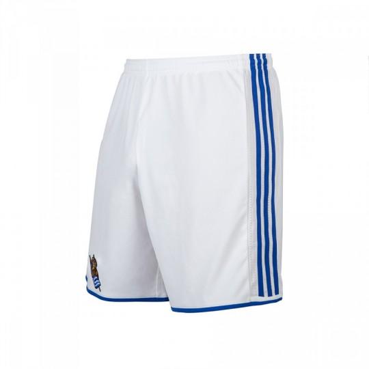 Pantalón corto  adidas Real Sociedad Primera Equipación 2016-2017 White