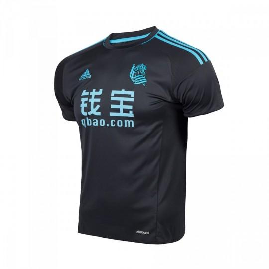 Camiseta  adidas Real Sociedad Segunda Equipación 2016-2017 Dark Grey