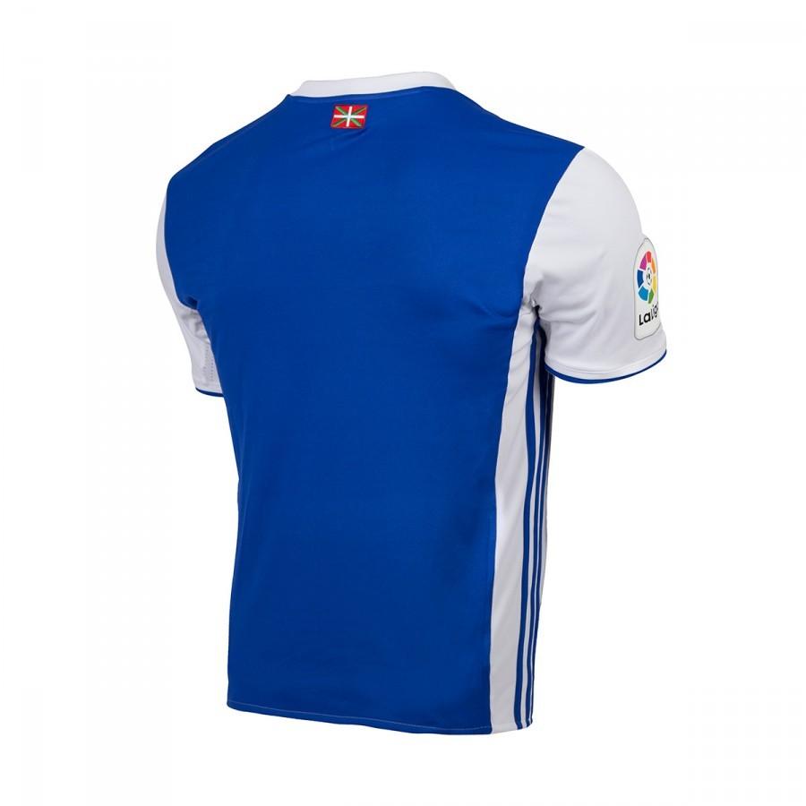 0632bfc370cab Camiseta adidas Real Sociedad Primera Equipación 2016-2017 White-Blue -  Tienda de fútbol Fútbol Emotion