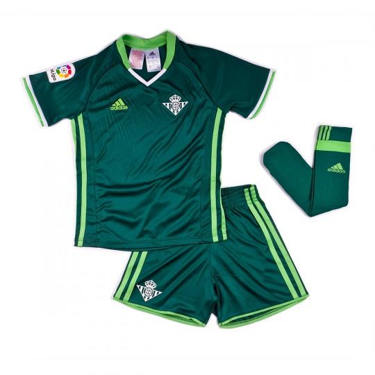 Conjunto  adidas jr Betis Away 2016-2017 Green-White