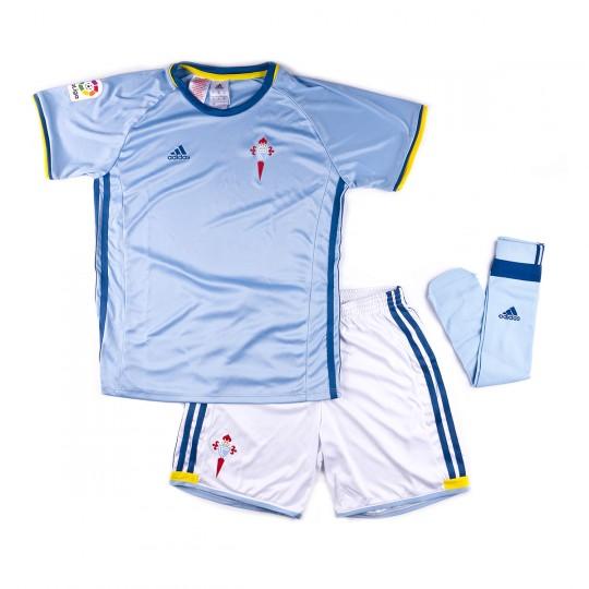 Conjunto  adidas jr RC Celta de Vigo Home 2016-2017 Clear blue-White
