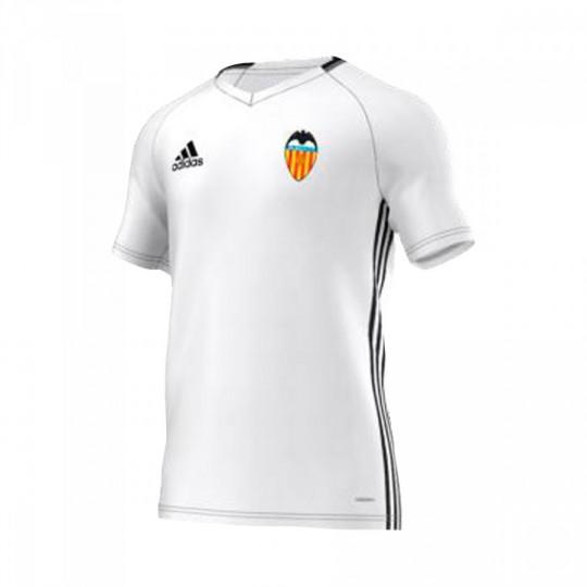 Camiseta  adidas jr Valencia CF Training 2016-2017 White