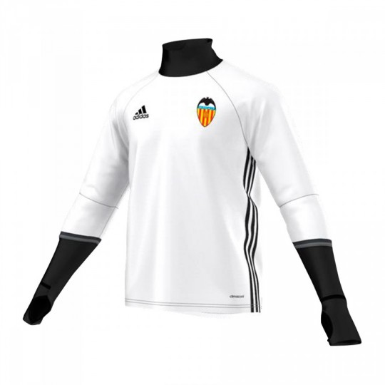 Sudadera  adidas Valencia CF Training Top 2016-2017 Niño White