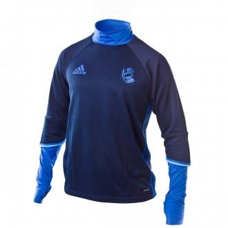 Sudadera  adidas Real Sociedad Training 2016-2017 Niño Navy-Blue