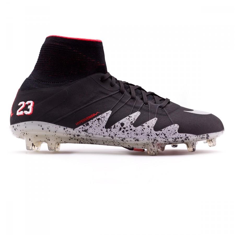 1cd749dfd371 Football Boots Nike HyperVenom Phantom II ACC Neymar Jr FG Black-Metallic  silver-Light crimson-White - Football store Fútbol Emotion