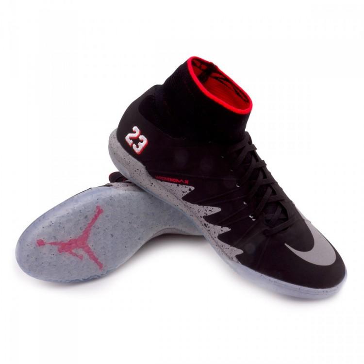 f98e9731c30e Futsal Boot Nike HyperVenomX Proximo Neymar Jr IC Black-Metallic ...