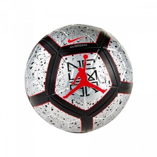 Balón  Nike Ordem Neymar Jr Black-Metallic silver-Light crimson-White